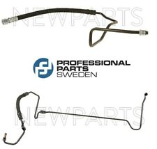 For Saab 900 P/S Pair Set of 2 Power Steering Pressure Hoses from Rack to Pump