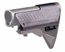 SST1 CAA Stock Black Cheek Rest Adjustable Rifle W Compartment Coll Stks Saddle