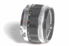 Olympus Pen F 38mm f/1.8 F Zuiko Auto S Manual Focus SLR Camera Lens SN 146741