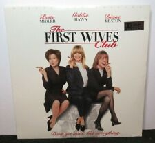 FIRST WIVES CLUB BETTE MIDLER GOLDIE HAWN DIANE KEATON NEW SEALED LASER DISC