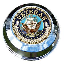 MotorDog69 Navy Veteran Harley Gas Cap Coin Mount