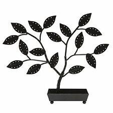 Tree Metal Earring Necklace Jewelry Holder Organizer Display Stand Ring Tray