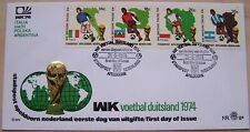 Stadspost Apeldoorn - FDC WK Voetbal , Football Duitsland 1974 (2)