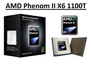 AMD Phenom II X6 1100T Hexa Core Processor 3.3 - 3.7 GHz, Socket AM3, 125W CPU