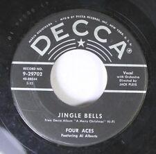 Christmas 45 Four Aces - Jingle Bells / The Christmas Song On Decca