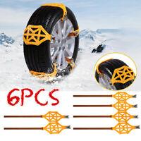 Catene neve per pneumatici auto camion. Fasce universali da 165 a 255mm ghiaccio