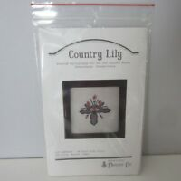 NEW DONNA LEE Counted Cross Stitch Kit Country Lily SEALED USA Flowers