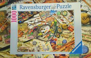 RAVENSBURGER Puzzle - 1000 pieces - 'Fishing Fun'