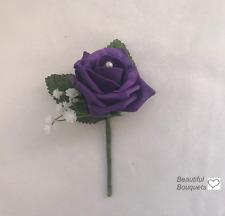 Buttonholes , single,double buttonhole grooms,best man corsage ,wedding flowers