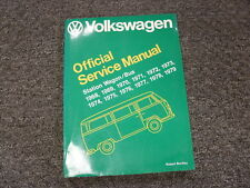 1968 1969 1970 1971 Volkswagen VW Station Wagon Bus Shop Service Repair Manual