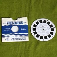 Vintage 1951 View Master Woody Woodpecker in the Pony Express Ride Reel No. 820