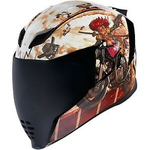 ICON Airflite Helmet - Pleasuredome 3 - Brown - XL