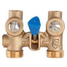 Watts 1/2 in. Bronze Sweat x MHT Washing Machine Shutoff Valve 175C