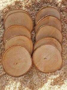 5 or 10pcs Ash Wood Tree Slice Wedding Centrepiece Rustic Wedding Decor