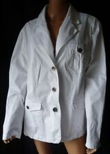 ***JACKET GIACCA OVS TG.49 IN COTONE COLORE BIANCO ...OFFERTA!