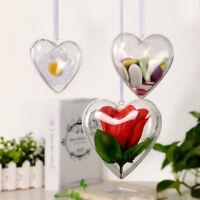 10 Packs Acrylic Craft Ball Sphere Baubles Christmas Wedding Present Decoration