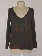 New Sz M Calvin Kleine  Shirt Long Sleeve 100% Cotton Top  (color Olive)