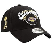 Los Angeles Lakers 2020 Champions Adjustable Finals Hat New Era 9TWENTY Black