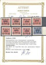 Rumburg 36 - 43 ungebraucht mit Falz Fotoattest Osper ME 240 (547182)