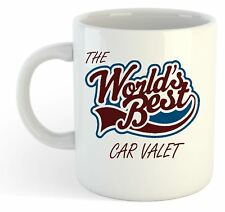 The Worlds Best Car Valet Mug