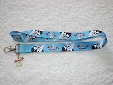 New DISNEY TOY STORY LANYARD + FORKY Charm Blue
