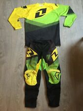 Boys / Youths One Industries ATOM Motocross / Off Road Set 10yrs mx Top / Pants