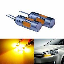 2x Ampoules LED Jaune HP24W COB 7.5W feux de jour Clignotant Peugeot 3008 5008
