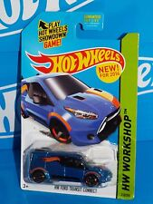 Hot Wheels New For 2014 HW Garage #210 HW Ford Transit Connect Blue