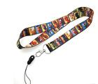 10 pcs avengers Neck Strap Lanyard Key chain Phone Card Badge Holder