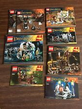 Lego 79007 9476 9472 9471 79005 9471 Lord of the Rings Instruction LOT ONLY #3