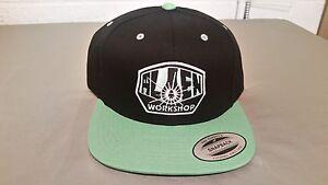 NEW Alien Workshop Green & Black Snapback Cap Hat