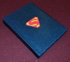 "Superman - Blue with Shield - Pocket Address Book 5""x4"" New"