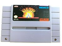 Kablooey SUPER NINTENDO SNES Game - Tested - Working - Authentic!
