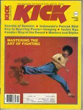 KICK ILLUSTRATED Magazine February 1983 2/83 SECRETS OF SANCHIN ISSHIN RYU