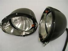 1939 Ford Deluxe Headlights & Buckets Assembly w/ Turn Signal PAIR