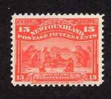 Newfoundland #70 Scarlet Seals Discovery of Newfoundland Issue MNH