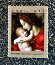 2018USA Forever Christmas Madonna and Child by Bachiacca - Single Stamp  Mint