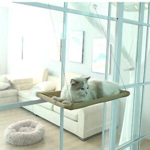 Cat Kitty Window Perch Seat Hammock Mounted Shelf Bed for Pets Hanging Sleep