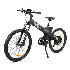"""26"""" Electric City E Bike Bicycle 1000W 48V Black Lithium LED Moped Pedal Assist"""