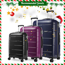 20/24/28 Inch Cabin Hard Shell PP Travel Trolley Hand Luggage Travel Suitcase