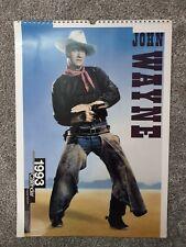 John Wayne 1993 Calendar VGC