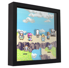 "Shining Force - 3D Shadow Box Frame (9"" x 9"")"