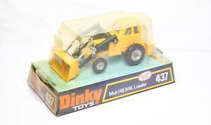 Dinky 437 Muir Hill 2WL Loader In Its Original Box - Excellent Vintage Model