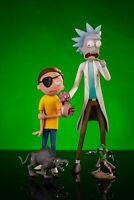NEW Rick and & Morty - Adult Swim - Mondo Exclusive Deluxe Figure Set