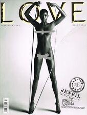 LOVE #3 Fashion Icons JENEIL WILLIAMS Charlotte Rampling DREE HEMINGWAY @VGC@