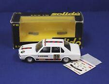 Solido 89 1:43 O Scale BMW 530 white  Rallye MIB 1979 France