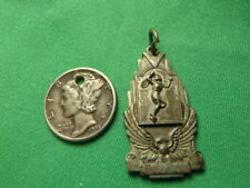 Vintage Sterling Silver Tennis 2nd Senior Mixed Doubles 1948 Award Pendant