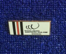 Rugby league badge Widnes Northern rail cup winners white