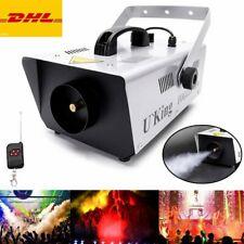 U`King 900W Nebelmaschine +Fernbedienung Bühneneffektausrüstung Theater Party DJ