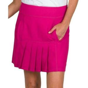 Jofit Golf Pink Pleated Dash Skort Skirt Size XXL Pockets